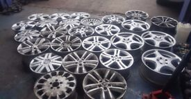 ALLOY RIMS FOR MERCEDES FORD VAUXHALL LANDROVER BMW VOLVO RENAULT *PRICE FOR 1*