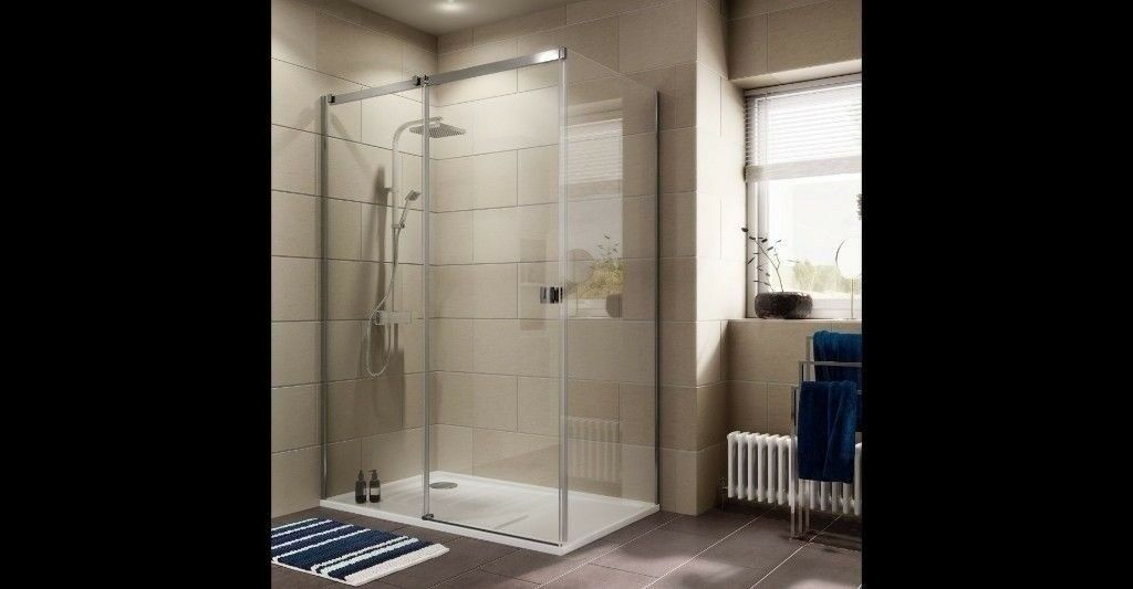 Cooke Lewis Luxuriant Rectangular Lh Shower Enclosure Tray Single Sliding Door W 1400mm D 900mm In Manchester Gumtree
