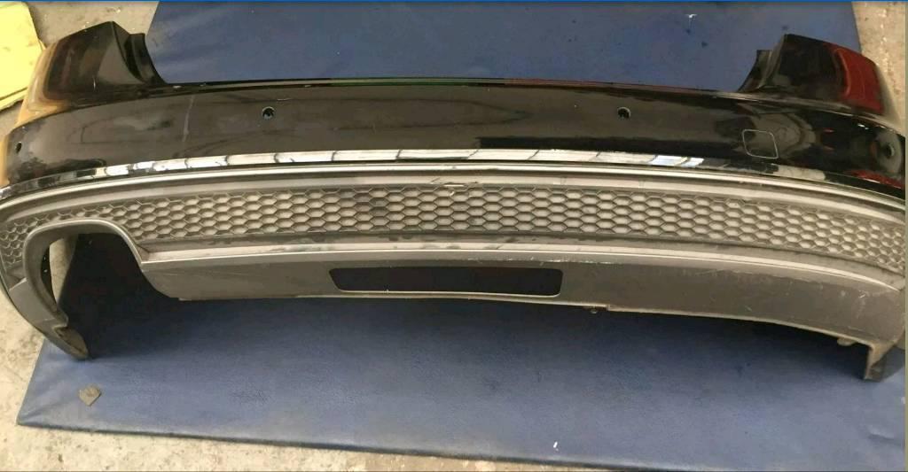 Audi A4 B85 S Line Rear Bumper Avant Estate 2012 Onwards In