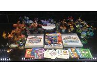 Large Collection of Skylanders Games & Figures Giants & Swapforce