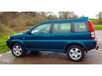 Honda HRV 5 Door in Green - Price Reduced ! SWAP FOR DIESEL OR SMART CAR ?