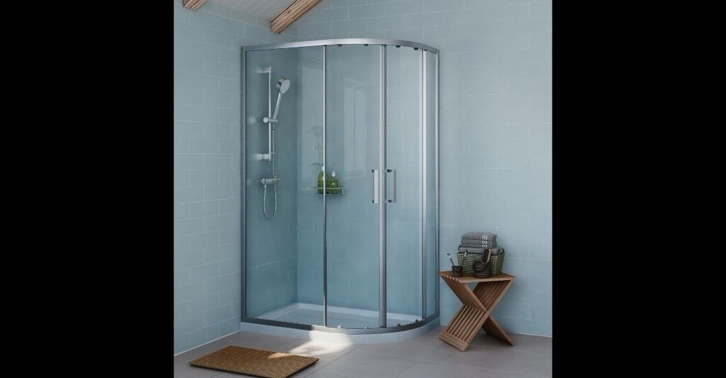 Exuberance Offset Quadrant Lh Shower Enclosure Tary With Double Sliding Doors W 1200mm D 800mm In Manchester Gumtree
