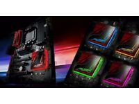 Brand new asus 970 pro gaming am3+ aura rgb motherboard