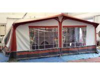 Dorema Cardinal caravan awning.