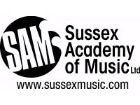 Sussex Instrument + Vocal tutors