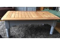 Unique upcycled coffee table