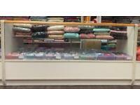 Retail Shop Glass Display Showcase Cabinets (3 Open & 1 W/Locking Mechanism)