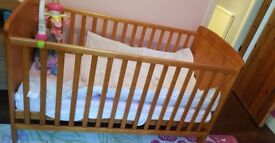 COT BED 2months old