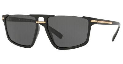 Versace VE4363 GB1/87 60mm Sunglasses Black / Grey Lens