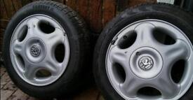 Vauxhall Corsa alloy wheels x 2