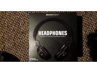 headphones SILVER CREST