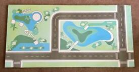 Children's Play Table with Road Layout