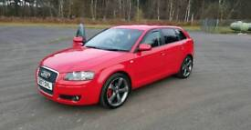 AUDI A3 2.0 S TRONIC WITH PADDLE SHIFT