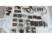 scarts, adaptors, switcher, etc job lot worth about £45