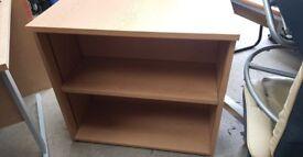 Wooden Bookshelf Includes 1 Shelf