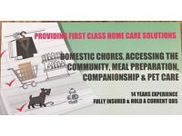 PERSONAL CARE ASSISTANT AVAILABLE 12+ YEARS EXPERIENCE