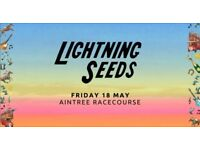 RACE DAY - Lightening Seeds singing at Aintree on Friday 18th of May