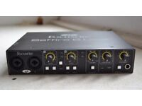 FOCUSRITE Saffire 6 USB Audio interface.
