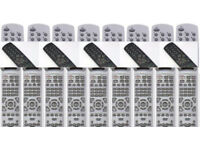 45 NEW Remotes,15 Of Each Type X 3 Types,Only £50,Make a HUGE Profit.