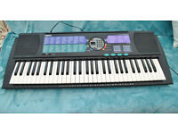 Yamaha PSR185 Keyboard with power supply.