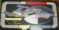 "FRAMED ""STAR TREK: THE NEXT GENERATION ENTERPRISE-D CUTAWAY!!"