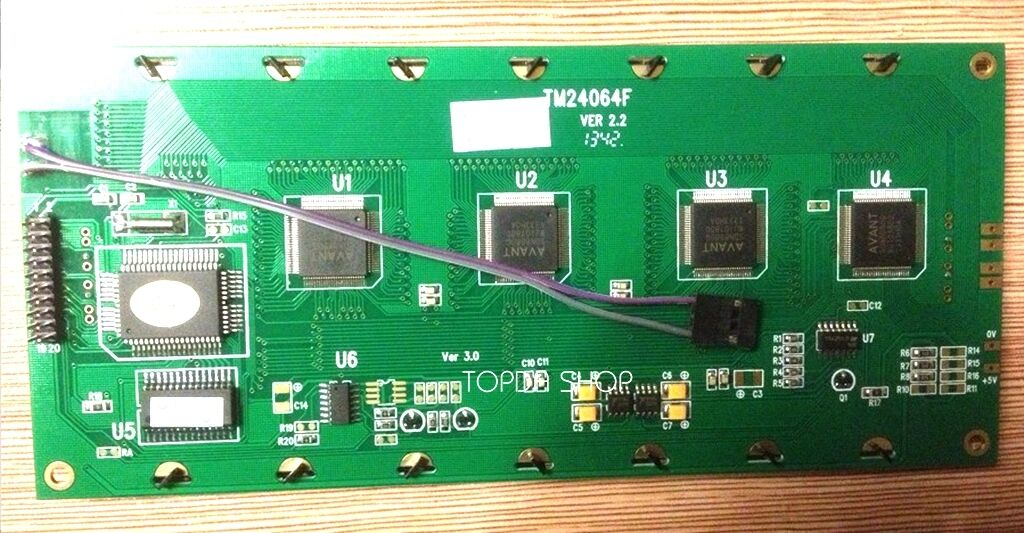 1pc TM24064F   LCD display  for Bonas 200 replacement