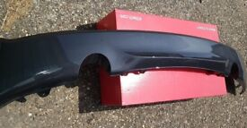GENUINE BMW 2 SERIES M235I / M240I F22 COUPE M SPORT REAR BUMPER DIFFUSER / TRIM