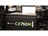 Corsair CX750M semi-modular PSU