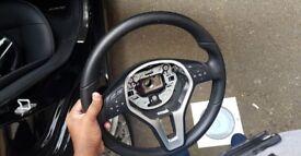 Mercedes A-Class, C-Class, E-Class Steering Wheel