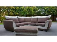 Stunning comfy corner sofa set splits into 3 sections spotless over £1400 new tags attached