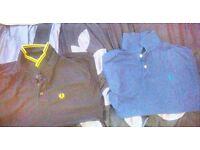 Mens polos & tshirts