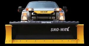 2017 Sno-Way 8' 29HD SERIES STRAIGHT-BLADE SNOW PLOW