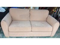 Large 2 seater sofa. Collection only
