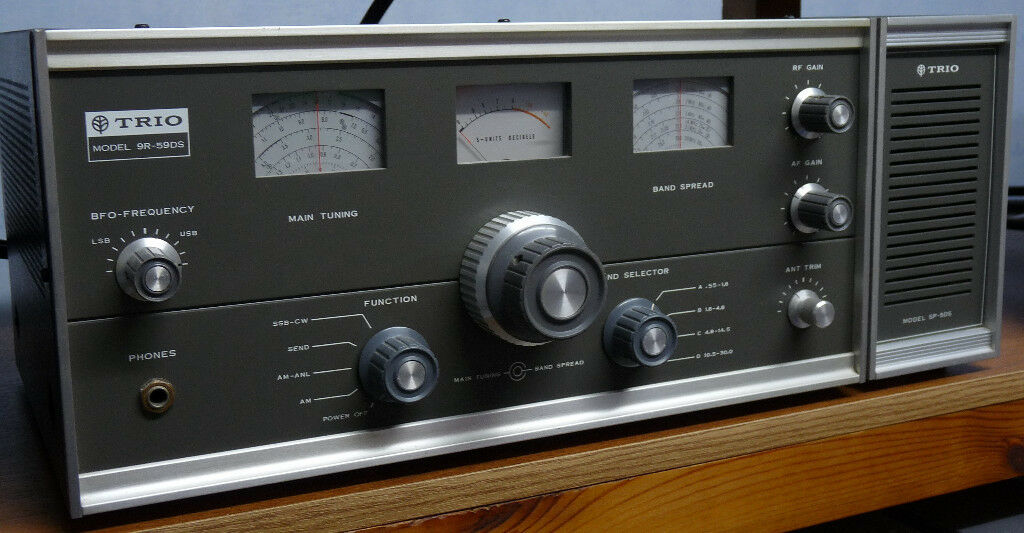 kenwood trio 9r 59ds communication receiver repair manual