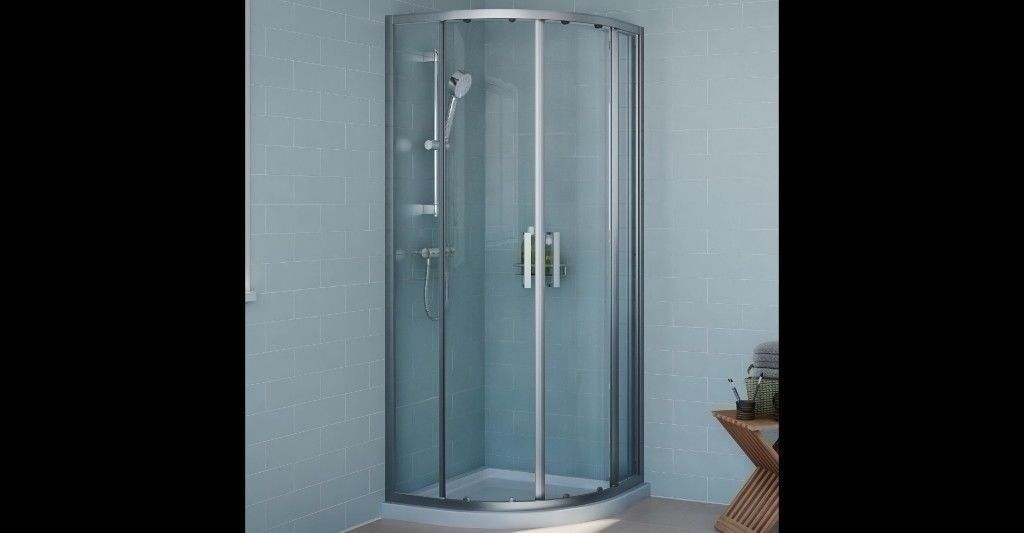 Cooke Lewis Exuberance Quadrant Shower Enclosure With Double Sliding Doors W 800mm D 800mm In Manchester Gumtree
