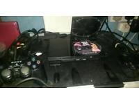 Slim ps2 console & eyetoy