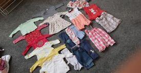 Baby clothes bundle 3-6 month