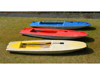 Topper sailing boat HULL ONLY - super cheap Stand Up Paddle Board