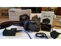 Canon EOS 700D SLR Digital Camera. BODY ONLY
