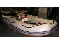 Quicksilver QS310 Inflatable Boat + Mariner 6hp Outbord Motor Complete Package