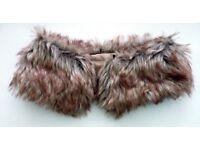 Vintage Fur Collar - Lined