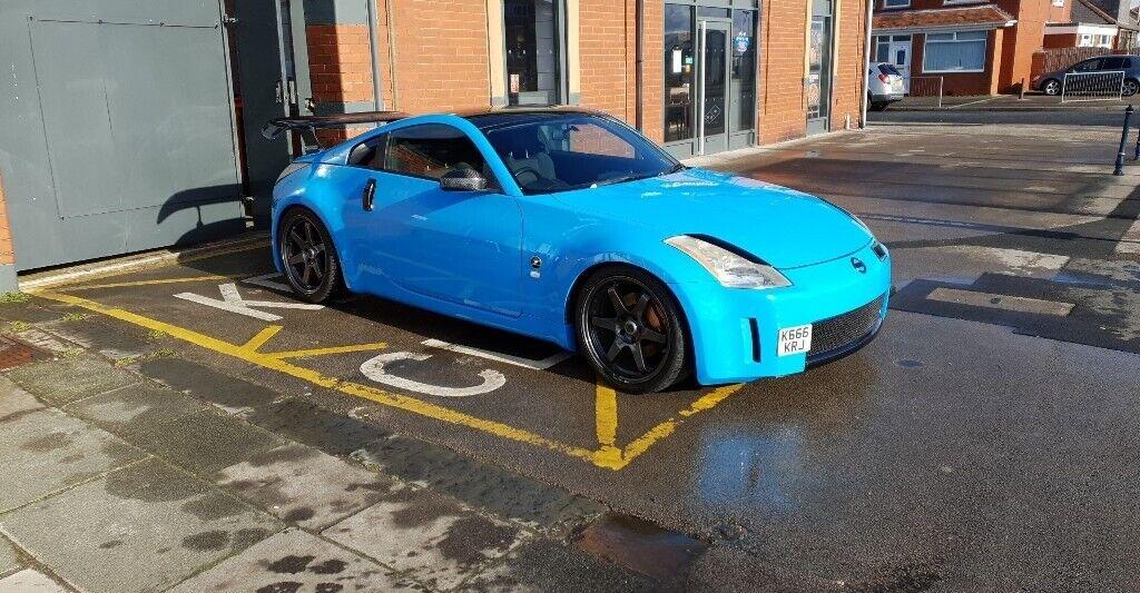 Nissan 350z 35 V6 Porsche Rivera Blue In Blackpool Lancashire
