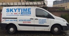 Skytime Aerials - Installation/Repair - Door Entry Systems - Alarms systems