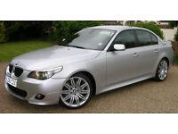 BMW 5 SERIES 3.0 535d M Sport 4dr 350bhp, warranty breakdown cover, etc