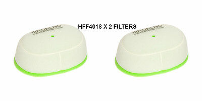 <em>YAMAHA</em> WR250R  WR250X HIFLO AIR FILTER FITS  2009 TO 2015  HFF4018  X