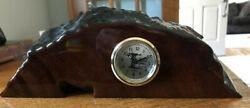 Natural Wood Creations Kauri Clock Ancient New Zealand Swamp Hand Made