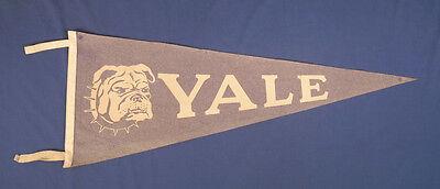 "Used, Vintage 1940's-1950's Felt Pennant Yale Bulldog 29-1/2"" x 11-3/4"" for sale  Webster"