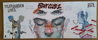 SDCC Comic Con 2016 Handout FIGHT CLUB 2 poster