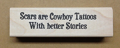 Mounted Rubber Stamp, Western Stamps, Cowboys, Cowboy Sayings & Quotes, Tattoos](Cowboy Western Tattoos)