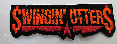SWINGIN' UTTERS COLLECTABLE RARE VINTAGE PATCH EMBROIDED 90'S METAL LIVE